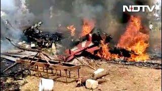 IAF की सूर्य किरण के दो विमान आपस में भिड़े, दोनों क्रैश - NDTVINDIA