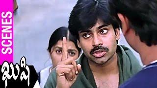 Pawan Kalyan Fights For Bhumika With Eve Teasers | Kushi Movie | Ali | SJ Surya | Mani Sharma - TELUGUFILMNAGAR
