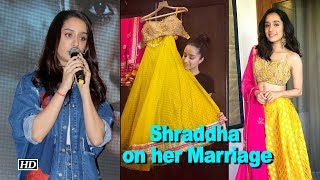 Shraddha clears the air on her Marriage Rumors - BOLLYWOODCOUNTRY