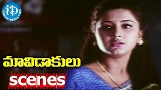 Maavidakulu Movie Scenes - Jagapathi Babu Blackmails Rachana || Brahmanandam || Koti - IDREAMMOVIES