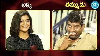 Bithiri Sathi v/s Shiva Jyothi | నువ్వా నేనా? | iDream Telugu Movies | Celebrity Buzz With iDream - IDREAMMOVIES