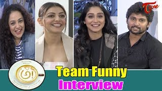 Chit Chat with AWE Movie Team | Nani, Regina, Nithya Menen, Kajal, Eesha - TeluguOne - TELUGUONE