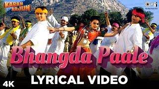 Bhangda Paale Lyrical - Karan Arjun | Sadhana Sargam, Mohammed Aziz, Sudesh Bhosle | Salman,ShahRukh - TIPSMUSIC