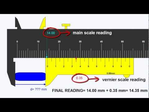Video Physics Class AVP - How to use vernier caliper (ENG).avi