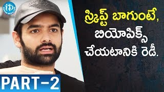 Actor Ram Pothineni Exclusive Interview - Part #2    Talking Movies With iDream - IDREAMMOVIES