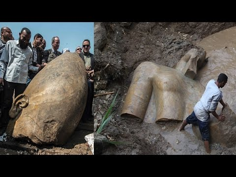 MASSIVE 3,000-Year-Old Statue May Be 'MOST Important Discoveries Ever'