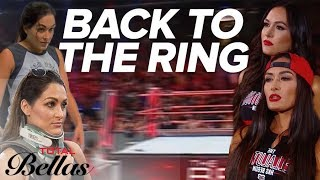 The Bella Twins' Road Back to The Ring | Total Bellas | E! - EENTERTAINMENT