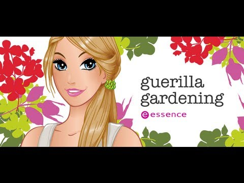 "Haul Essence: ""Guerilla Gardening"" collection"