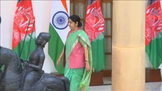 19 Sep, 2018 - Afghan President Ghani meets India's Modi in New Delhi - ANIINDIAFILE