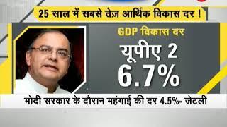 Indian economy in a better position under NDA : Arun Jaitley - ZEENEWS