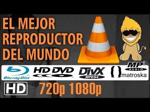 [VLC] El Mejor Reproductor de Vídeos MP4   H.264   Blu Ray   MKV   DVD   MP3 [HD]