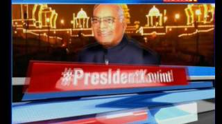 Ram Nath Kovind will become the 14th President of India; will take oath in the presence of CJI - NEWSXLIVE