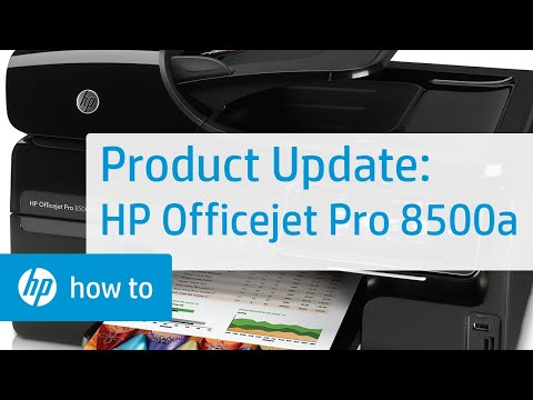 Product Update - HP Officejet Pro 8500a (a910g, a910n)