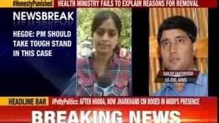 Former Karnataka lokayukta Hegde wants PM to intervene - NEWSXLIVE