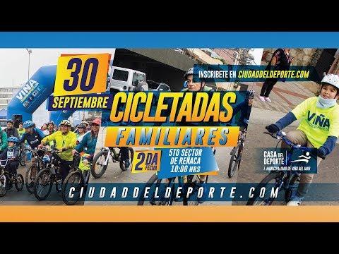 2ª Fecha Cicletadas Familiares Reñaca 2018