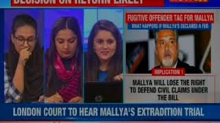 Vijay Mallya will lose the right to defend civil claims under the bill - NEWSXLIVE