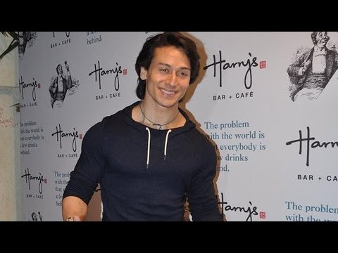 Tiger Shroff Attends Harry's Bar & Cafe Launch