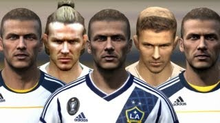 Beckham from FIFA 04 to 13 | HD 1080p