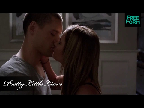 Pretty Little Liars - Season 4: Episode 16 | Clip: Travis & Hanna Kiss