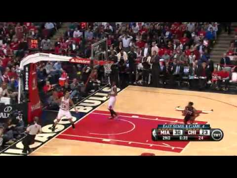 NBA Playoffs Conference 2013: Miami Heat Vs Chicago Bulls Highlights May 13, 2013 Game 4