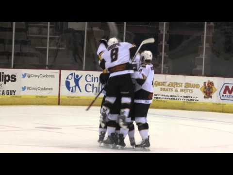 Cyclones vs Solar Bears - April 23, 2014