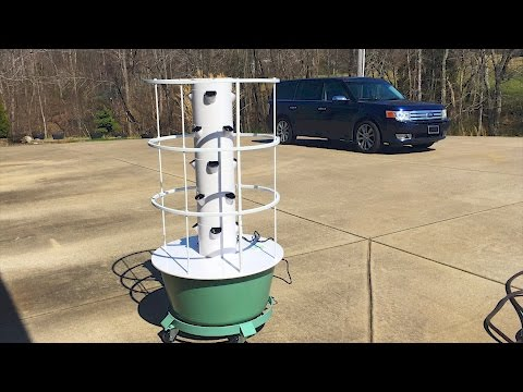 How To Set Up A Tower Garden - FOOD GARDENING