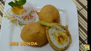 Fried Boiled Eggs - Egg Pakora