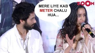 Stars Shahid Kapoor & Shraddha Kapoor On When Did Their 'Meter' Start? | Batti Gul Meter Chalu - ZOOMDEKHO