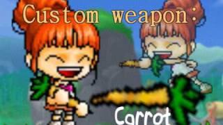 maple story custom weapon