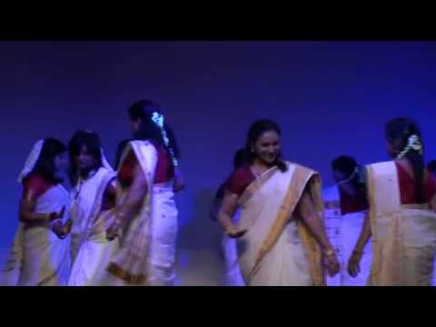 St. Mary's COI 2012 Talent Show - Thiruvathira Kali