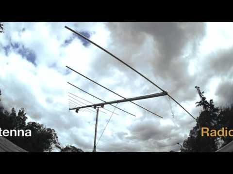 Antenna for solar radio astronomy