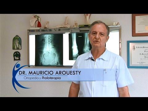 ¿Cómo se lleva a cabo la proloterapia? Dr. Mauricio Arouesty