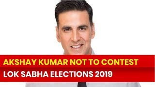 Lok Sabha Elections 2019: Bollywood Actor Akshay Kumar denies joining Indian Politics - NEWSXLIVE