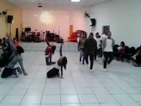 Coreografia Gospel - Não Vamos Desistir
