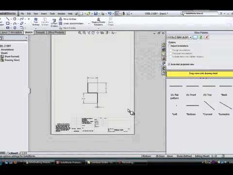 Solidworks drawings basics