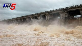 Heavy Water Inflow into Tungabhadra Dam : TV5 News - TV5NEWSCHANNEL