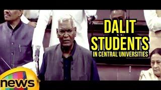 D Raja Aggressive Speech On Dalit Students In Central Universities   Rajya Sabha   Mango News - MANGONEWS