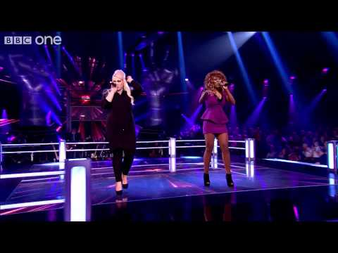 Jenny Jones Vs Joelle Moses: 'I'm Every Woman' - The Voice UK - Battles 1 - BBC One