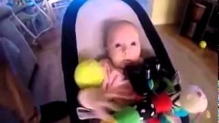 Ağlattığı Bebeğin Gönlünü Oyuncaklarla Alan Köpek
