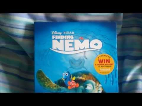 Finding Nemo BluRay Unboxing