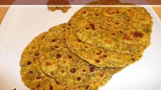 Methi Thepla - Fenugreek Parata..