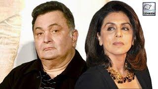 Neetu Kapoor ANGRY on Rishi Kapoor's Tweets | LehrenTV