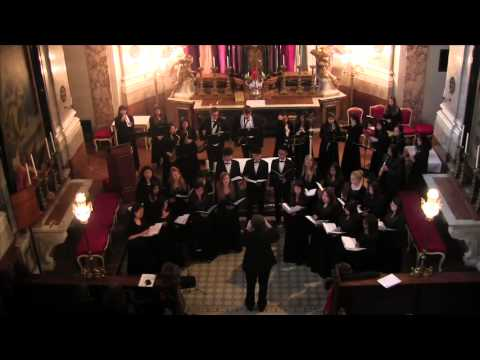 ISKL Austria Music Tour Schonbrunn Palace Chapel Choir Performance: