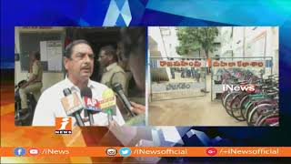 ABVP Leaders Protest At School In Rajahmundry | iNews - INEWS