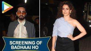 Badhaai Ho Full Special Screening | Sanya Malhotra | Ayushmann Khurrana | Radhika | Fatima - HUNGAMA