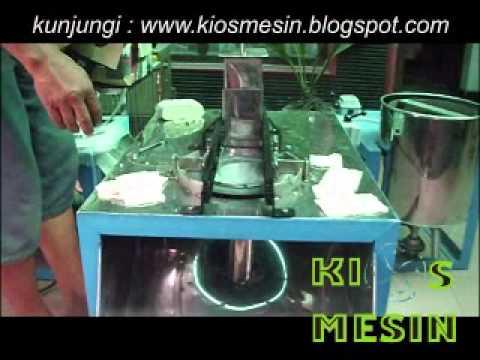 mesin perajang, pengiris, pemotong tempe keripik