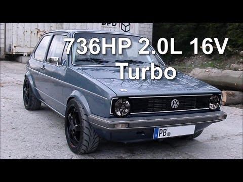 736 KM pod maską Volkswagena Golfa I