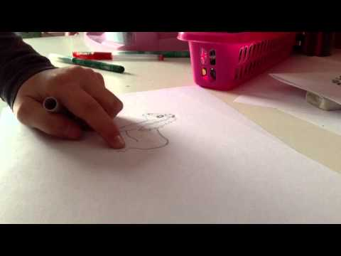 Cartoon paard: hoe teken je dat?
