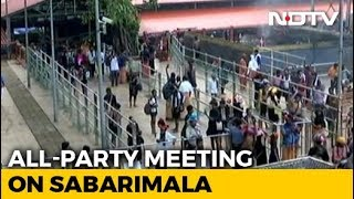 On Sabarimala Issue, Kerala Government Calls All-Party Meet Today - NDTV