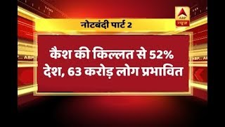Cash crunch: 'Increasing printing of Rs 500 notes by 4 times' assures government - ABPNEWSTV